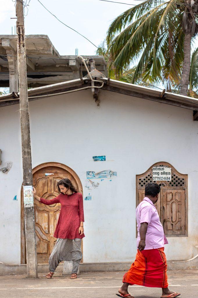Street in Trincomalee, Sri Lanka