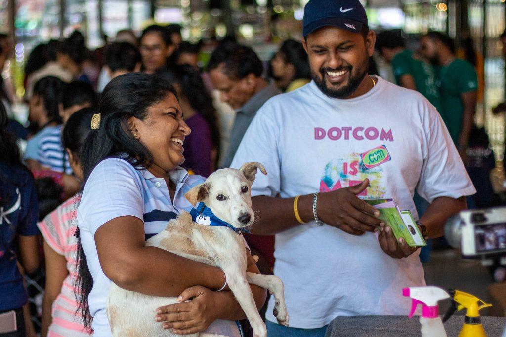 Rescued dog, Sri Lanka