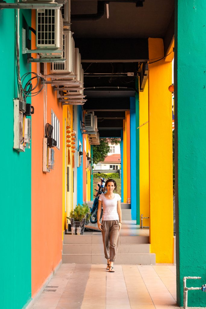 Colourful building Jerantut, Malaysia