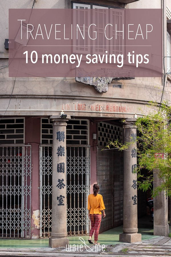 Pinterest 10 money saving tips for traveling cheap