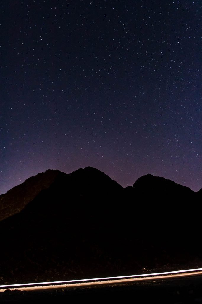 Night sky, Oman