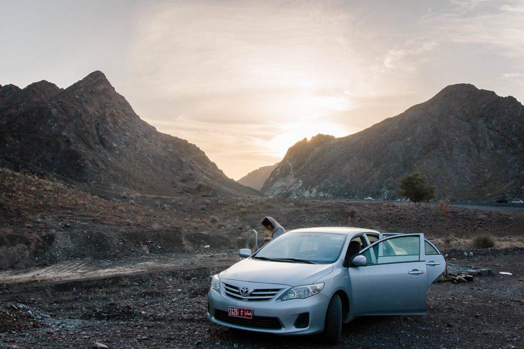 Rustaq - Miskin road, Oman