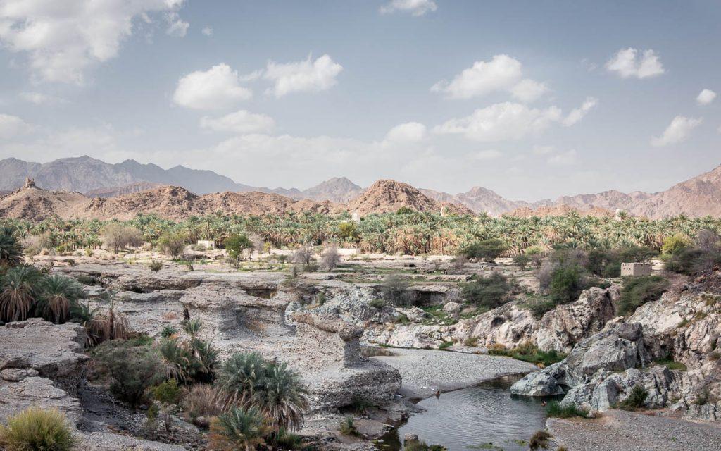 Wadi Alhoqain, Oman