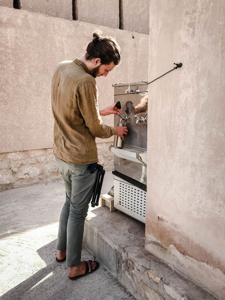 Public water filter, Oman
