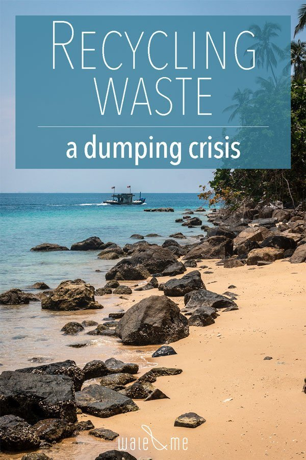 Recycling waste from foreign countries is illegally dumped in the Malaysian Peninsula.