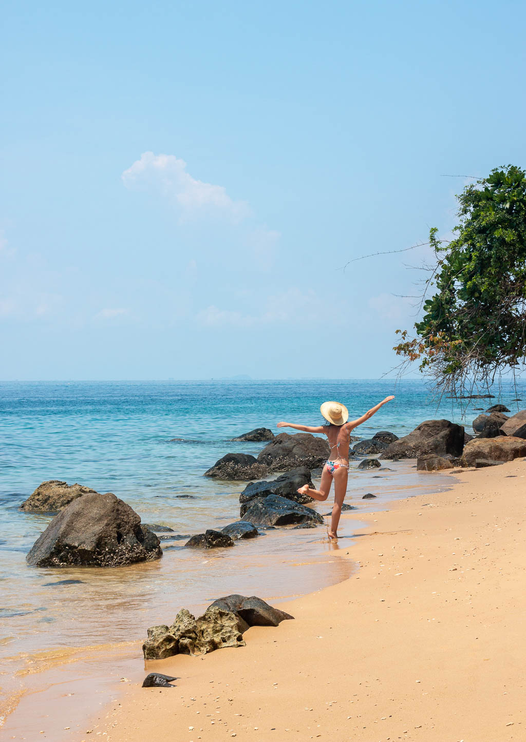 The beaches of the Perhentian Islands in Malaysia.