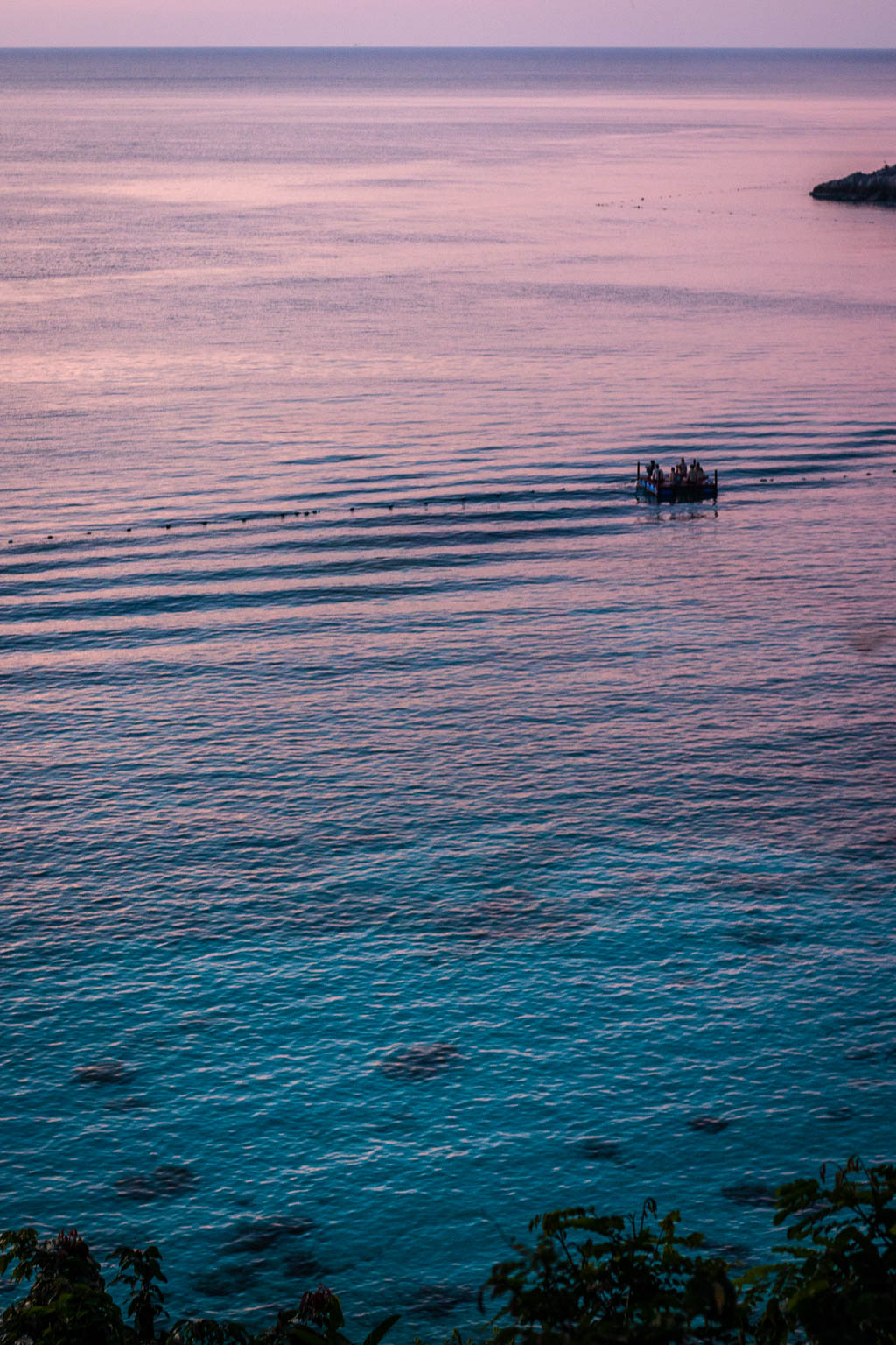 Sunset in the Perhentian Islands, Malaysia.